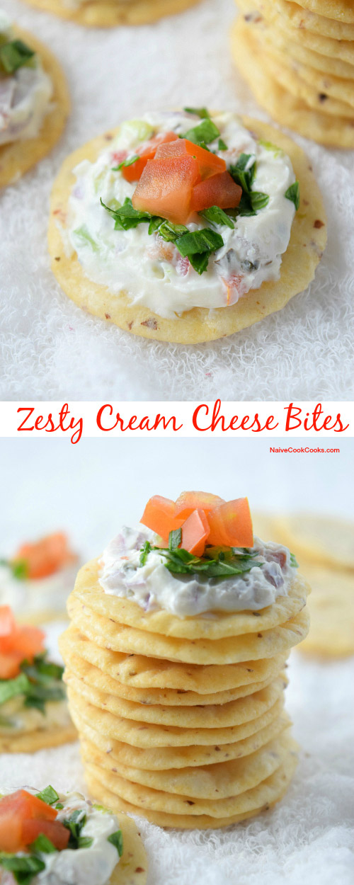 Zesty Cream Cheese Bites for Pinterest