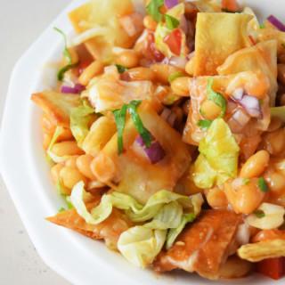 Baked Beans Taco Salad