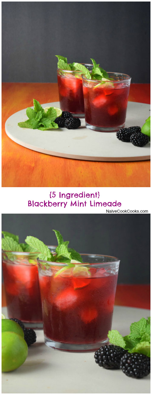 Blackberry Mint Limeade for Pinterest