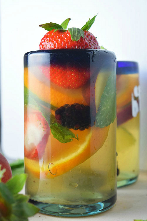Ready to Drink Summer Bourbon Sangria