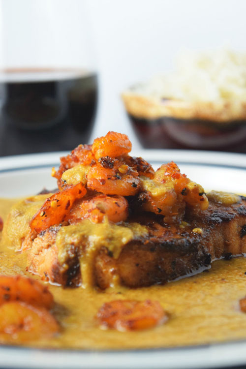 Shrimp Caribbean Swordfish Curry