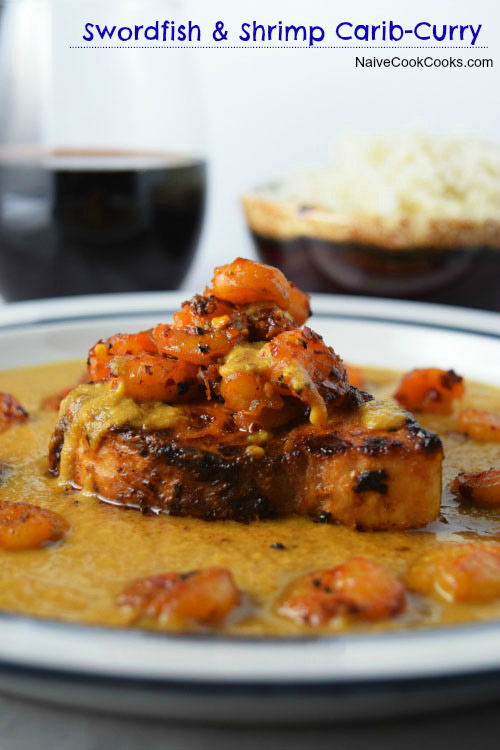 Swordfish and Shrimp Caribbean Curry