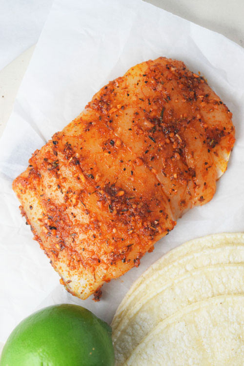 Cajun Seasoned Fish for Cajun Fish Tacos