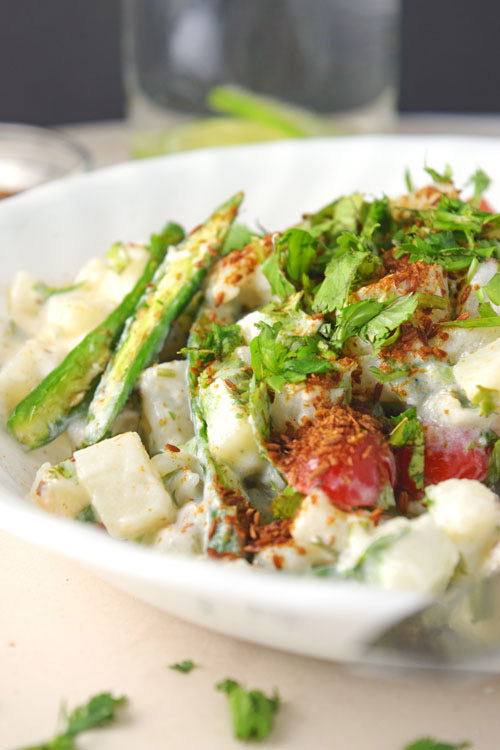 Creamy Cilantro Potato Salad 1