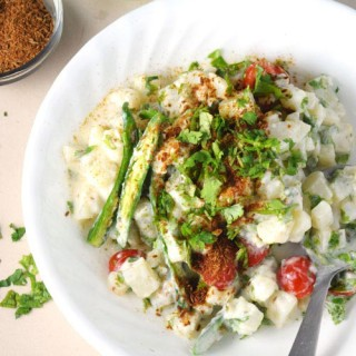 Creamy Cilantro Potato Salad