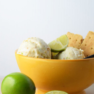 Lime Cracker Ice Cream