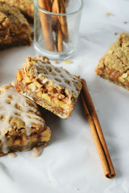 Oat Apple Pie Bars 1
