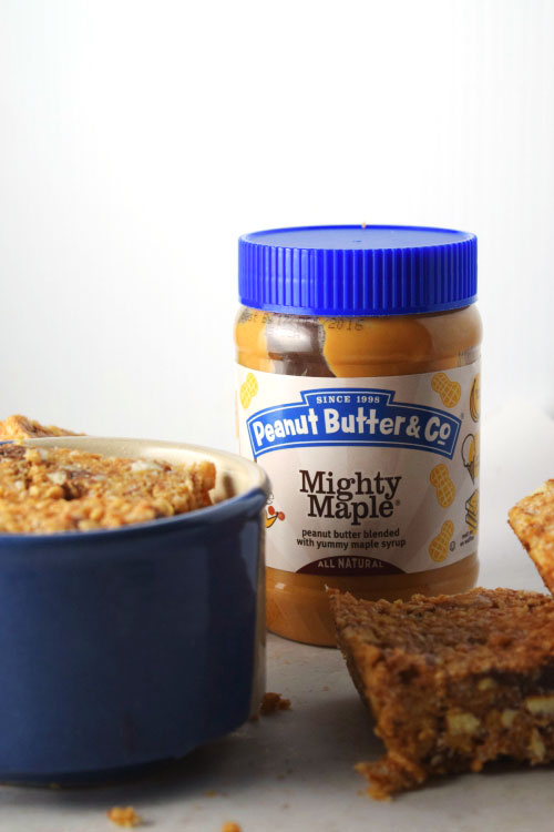 Peanut Butter for Chocolate Peanut Butter Rice Krispie Treats