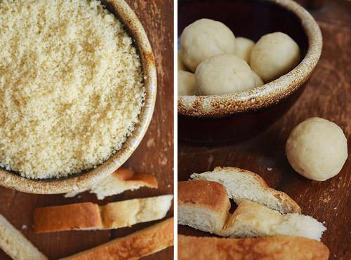 Bread Balls for Bread Gulab Jamun