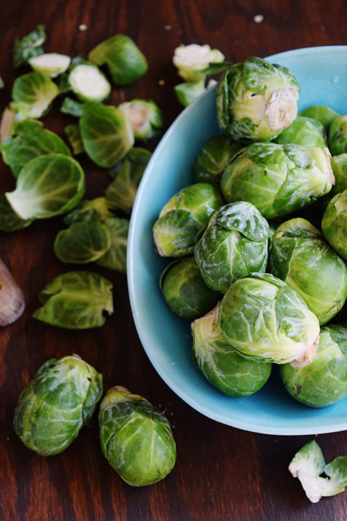 Brussels Sprouts for Balsamic Brussels Sprouts Pasta