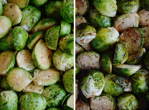 Roasted Brussels Sprouts for Balsamic Brussels Sprouts Pasta