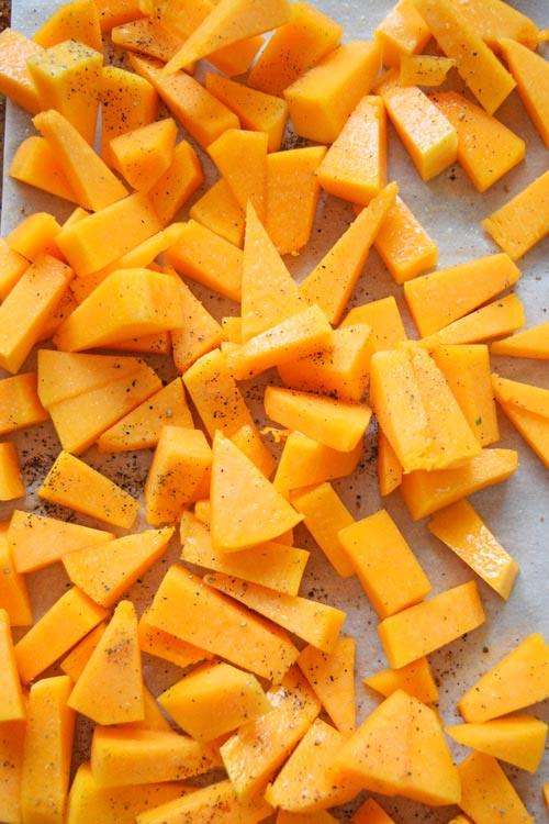 Butternut Squash Seasoned for Butternut Squash Kale Risotto