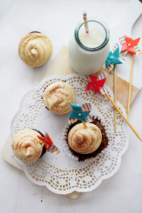 Mochaccino Cupcakes with Coffee Buttercream 1