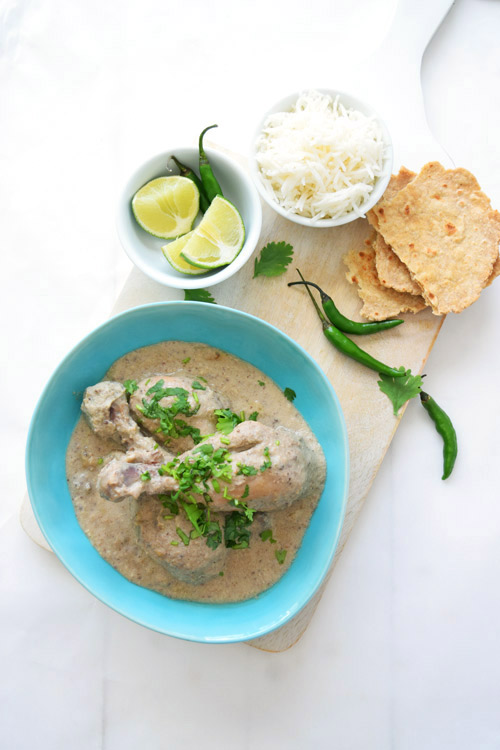 Slow Cooker Chicken Korma Meal