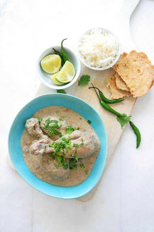 Slow Cooker Chicken Korma Meal
