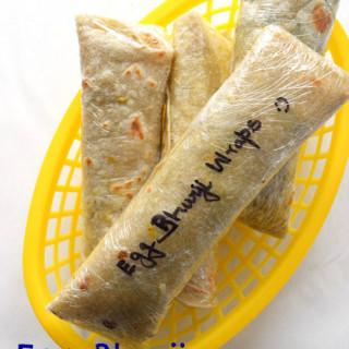 Egg Bhurji Breakfast Wraps