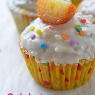 Gulab Jamun Cupcakes