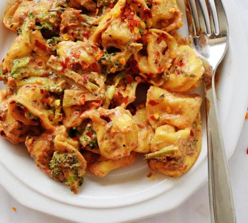 Roasted Garlic Tortellini