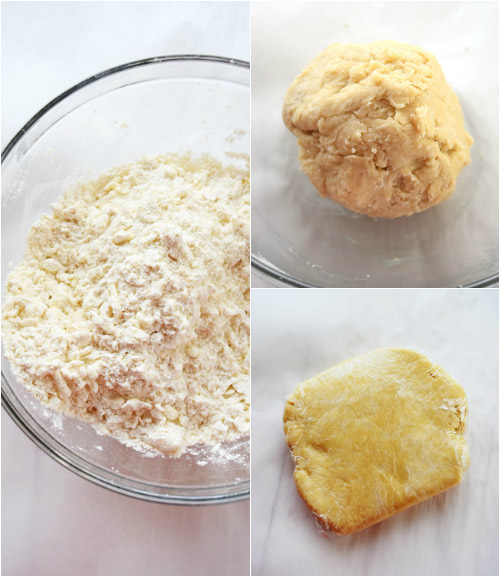 Steps for Making Dough for Caramel Apple Pie