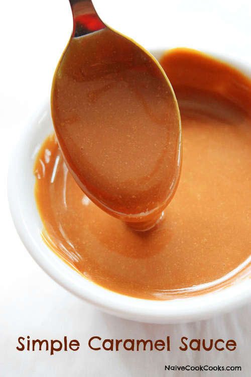 Learn how to make homemade simple caramel sauce from scratch with just ...