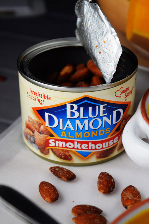 Blue Diamond Almonds used for Spiced Butternut Squash Soup