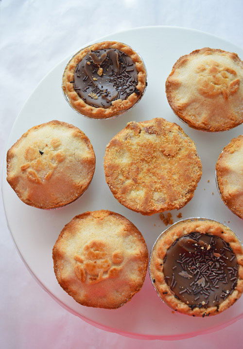 Different Mr.Kipling Pies for Holiday Things