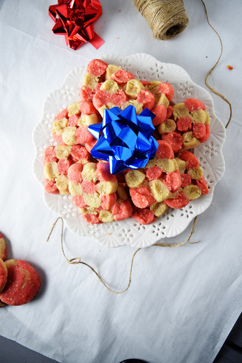 Easy Cashew Sugar Cookies Ready for Christmas