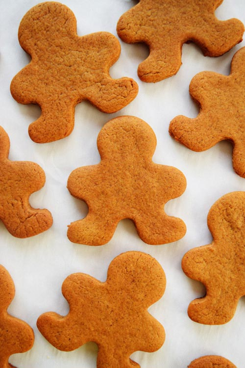 Homemade Gingerbread Men without Icing