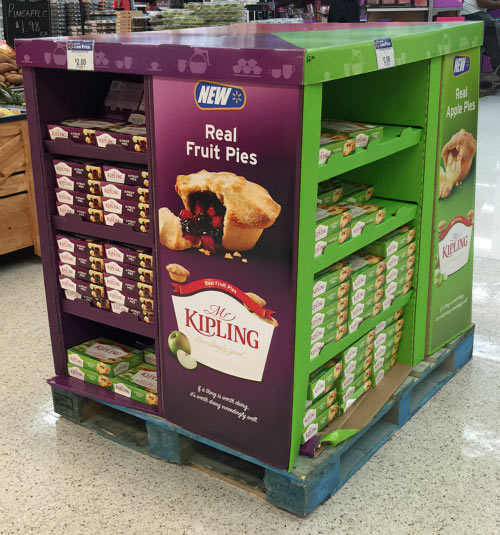 Mr.Kipling Pies at Walmart for Holiday Things