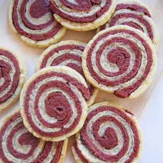 Red Velvet Sugar Cookie
