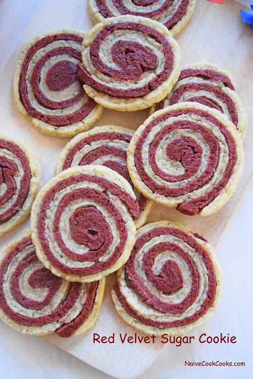 Red Velvet Sugar Cookie