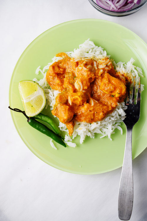 Slow Cooker Chicken Tikka Masala with Rice