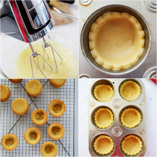Steps to Make Cookie-Cup for Red Velvet Cheesecake Cookie Cup