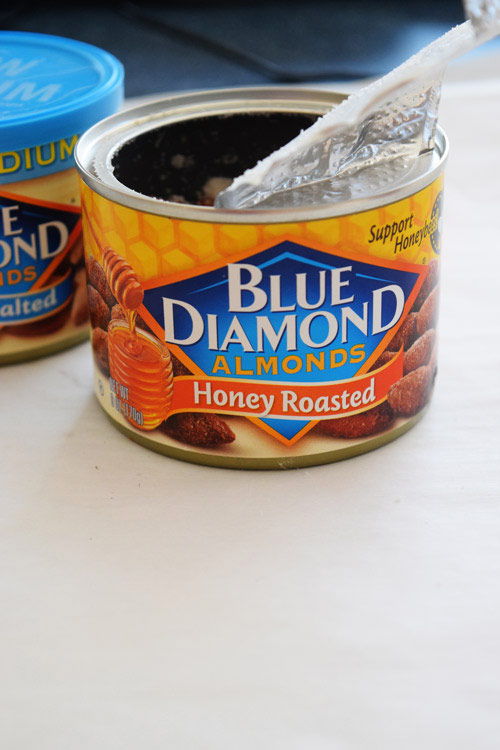 Blue Diamond Almonds for No Bake M&M Protein Balls