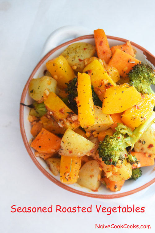 Seasoned Roasted Vegetables