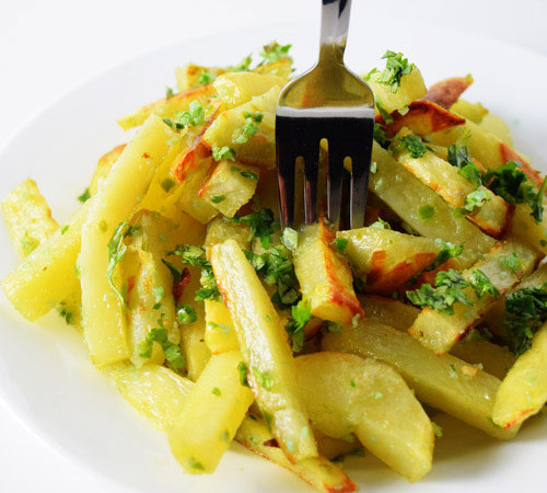 Spicy Green Fries