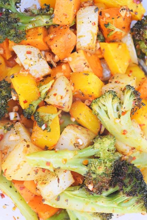 Yummy Seasoned Roasted Vegetables to Eat