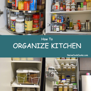 How To Organize Kitchen