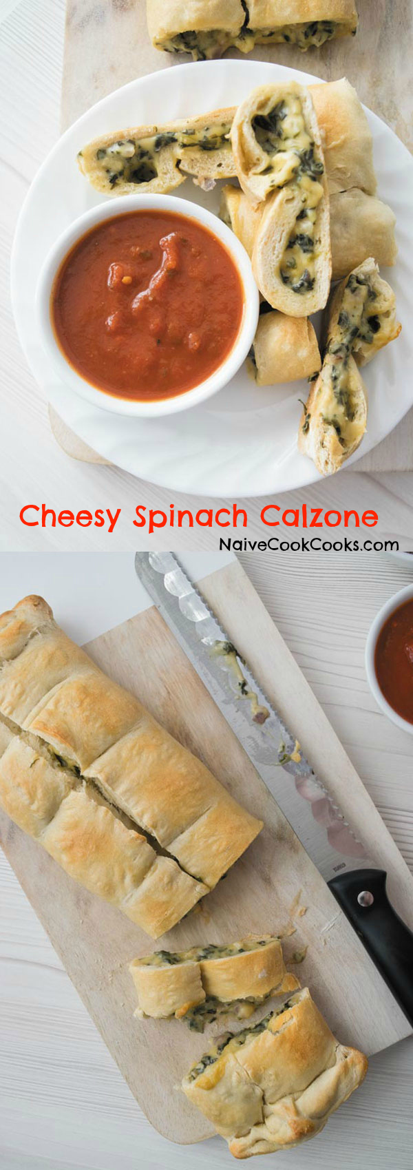 cheesy spinach calzones 1