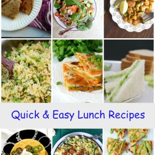 Quick & easy lunch recipes