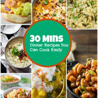 30 min dinner recipes