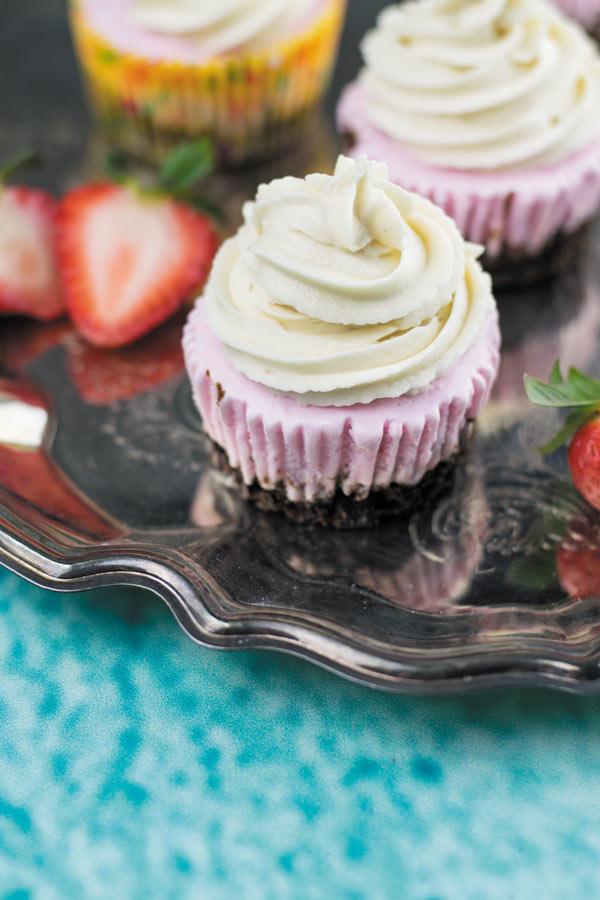 Nepolitan Ice Cream Cupcakes