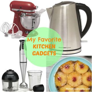 kitchen gadgets collage
