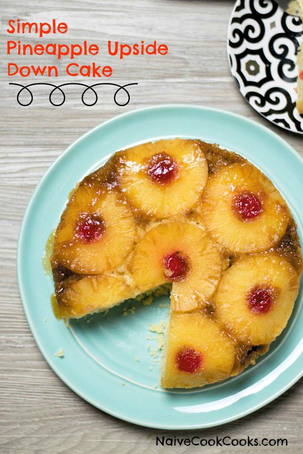 pineapple upside down cake ready 1
