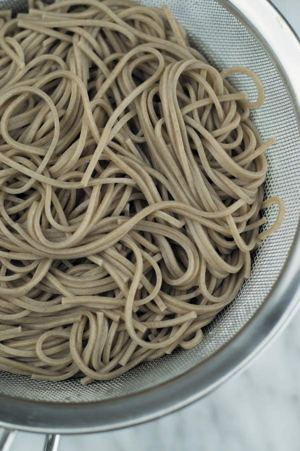 soba noodles for spicy peanut sauce noodles
