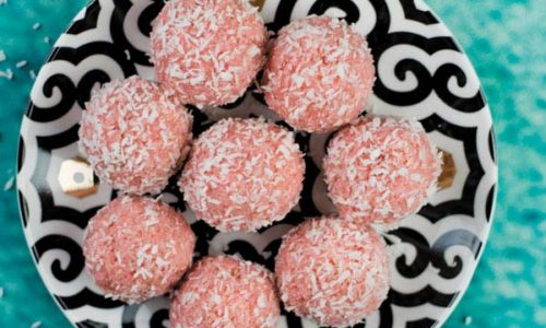 Rose Coconut Ladoo Complete 1title