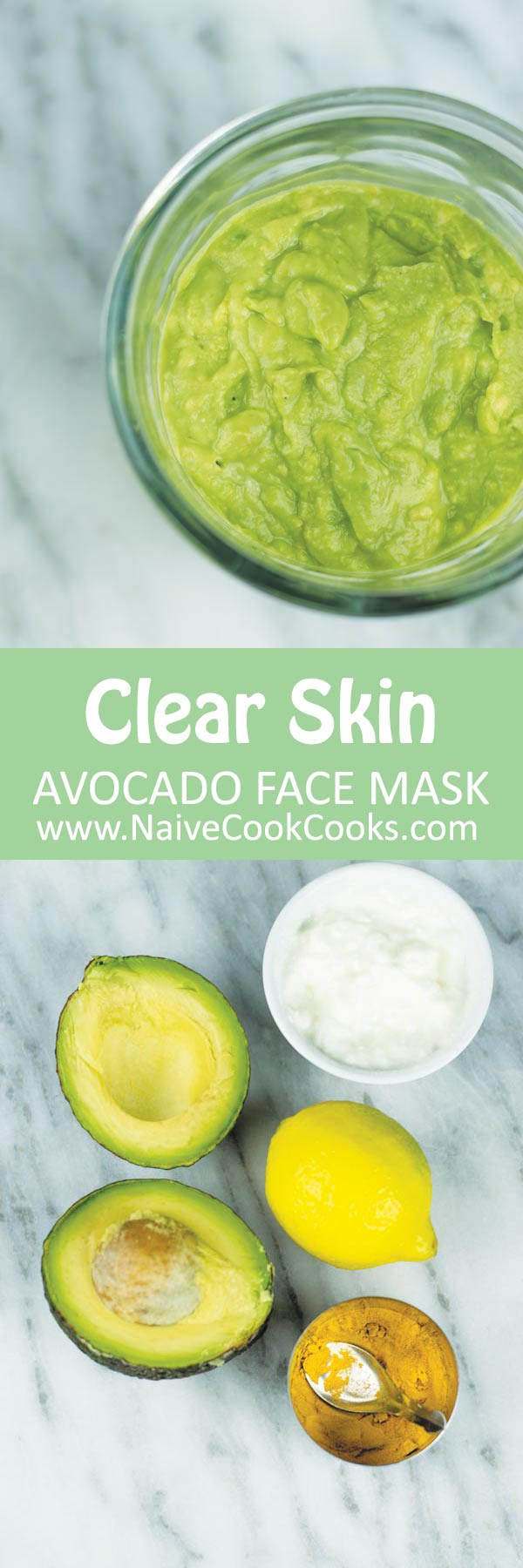 avocado face mask ready long pin