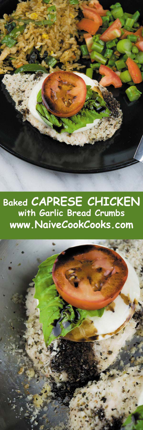 baked caprese chicken long pin
