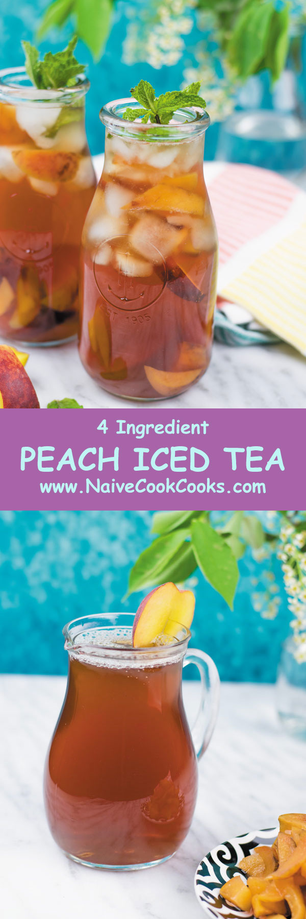peach iced tea ready to drink