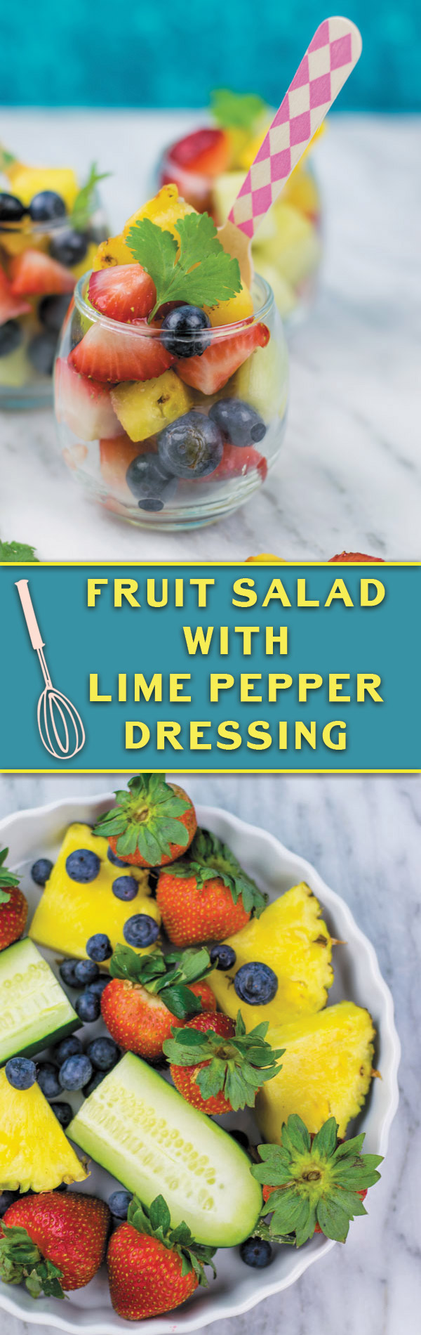 Summer Frui Salad - a simple 15 mins fruit salad, great for BBQ's, summer picnics or a light meal!